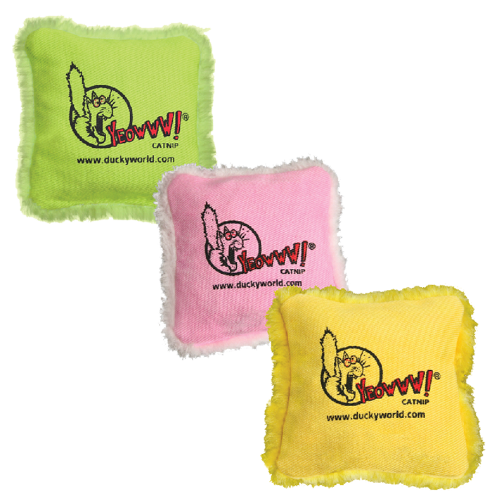 Yeowww! Pillows