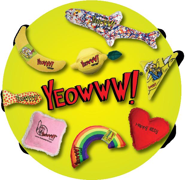 Yeowww! Catnip Toys