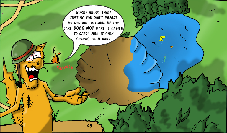 Yeowww! Catnip Comic Issue 2 - Panel 3