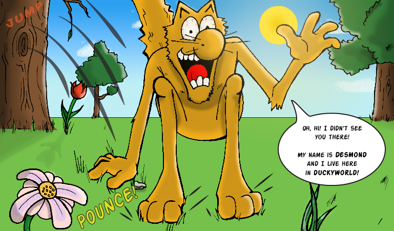 Yeowww! Catnip Comic Issue 1 - Panel 2