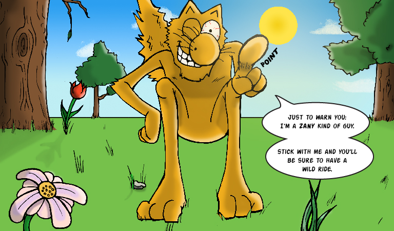 Yeowww! Catnip Comic Issue 1 - Panel 3