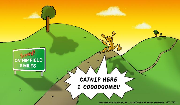 Yeowww! Catnip Comic Issue 1 - Panel 5